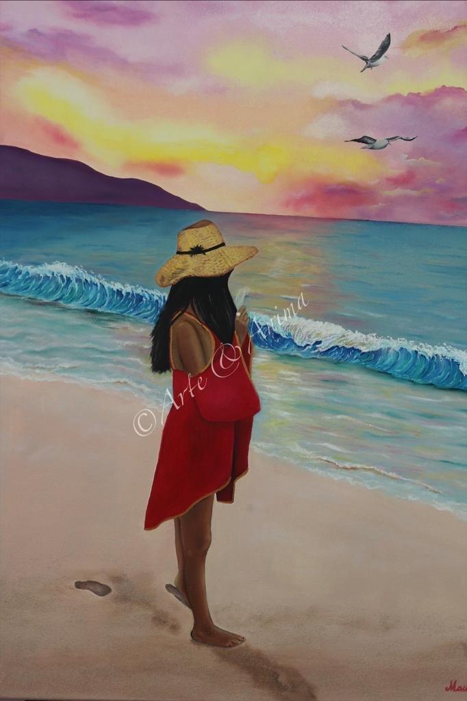 Dipinto con colori a Olio suu tela