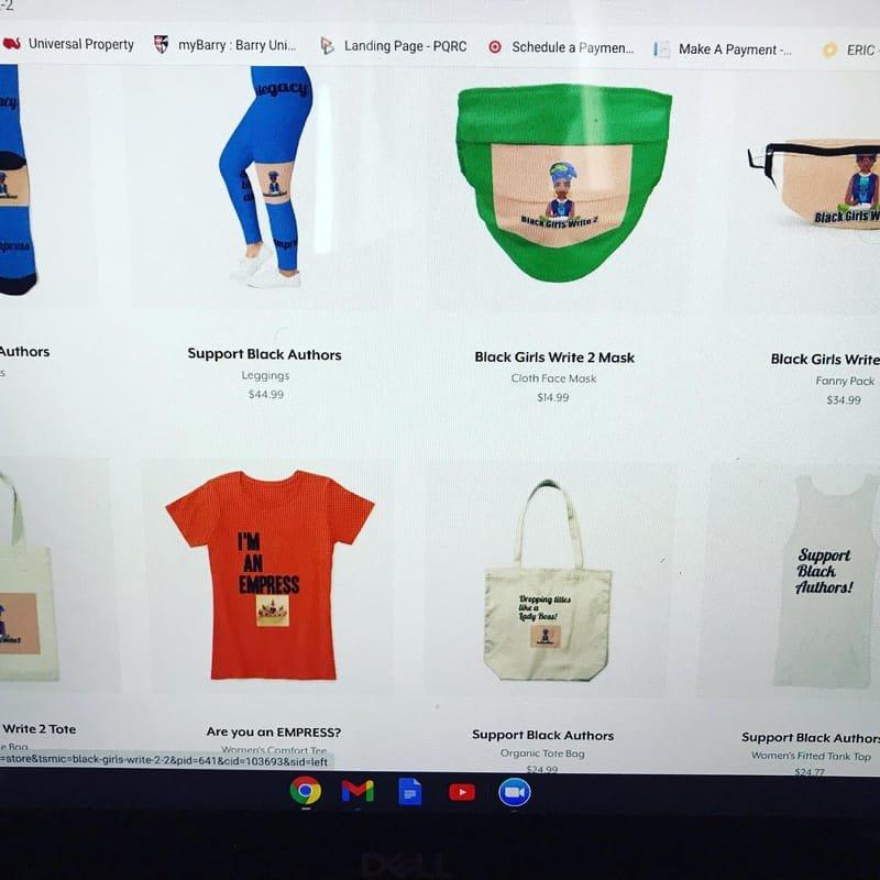 Merchandise for sale
