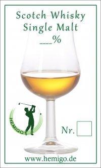 "Whiskyliste ""Turniersonderpreis"""