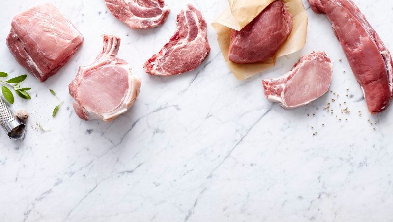 La viande de porc