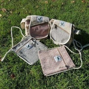 Handmade Hemp Handbags