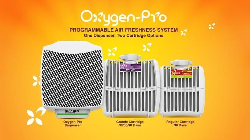 OXYGEN PRO FRAGRANCE SYSTEMS