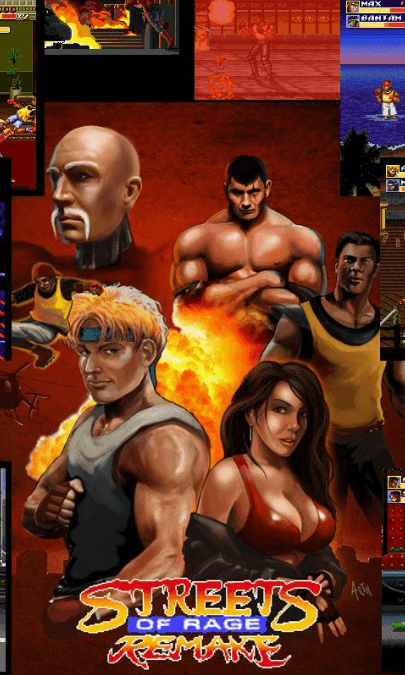 Streets of Rage by BomberGames