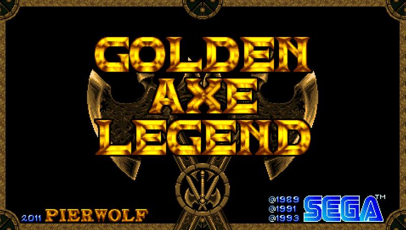 Golden AXE Legend