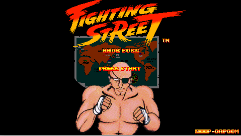 Fighting Street Hack Boss