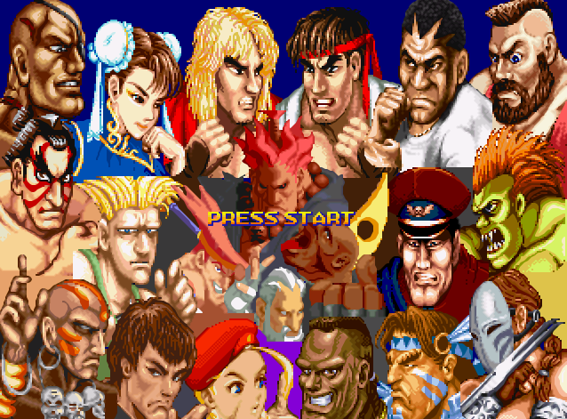 Street Fighter Rage: World Olympic Tour