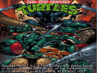 Teenage Mutant Ninja Turtles - Red Sky Battle