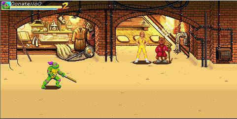 Teenage Mutant Ninja Turtles - The Wrath of Shredder