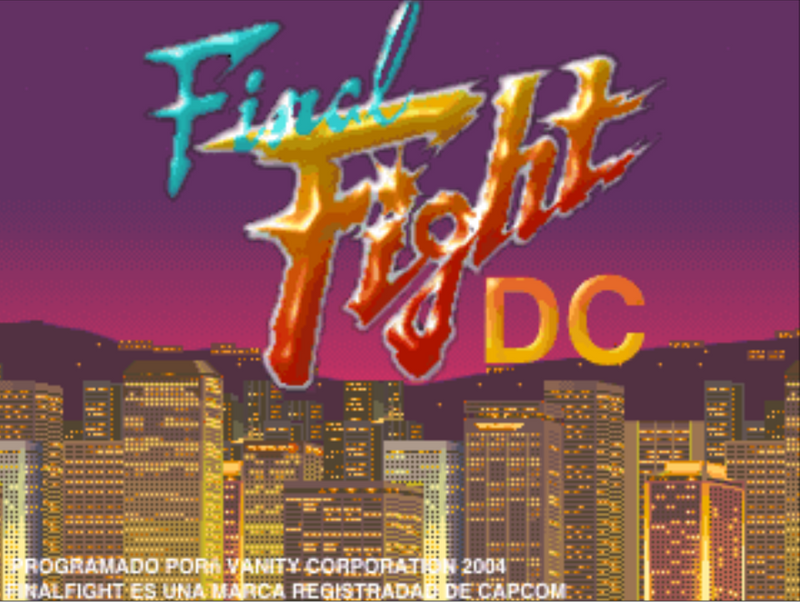 Final Fight DC