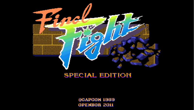 Final Fight Special Edition