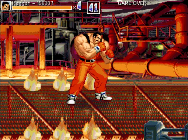 Luta Final Fight