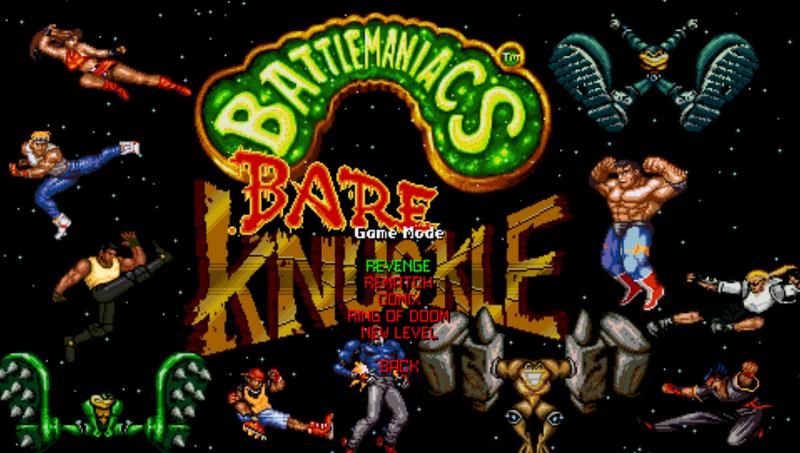 BattleManiacs - Bare Knuckle