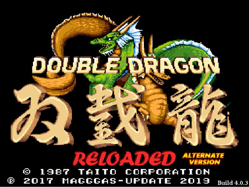 Double Dragon Reloaded Alternate