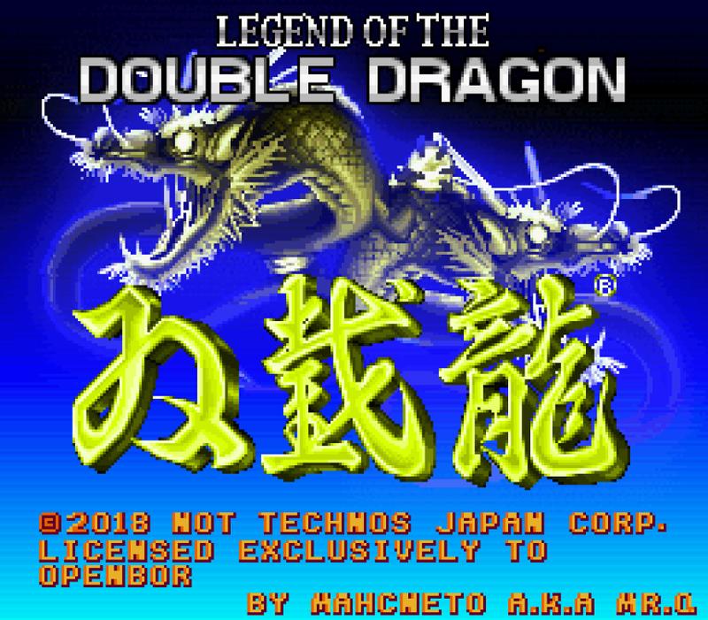 Legend of Double Dragon