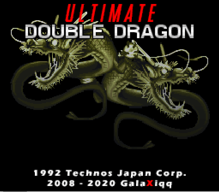 Ultimate Double Dragon