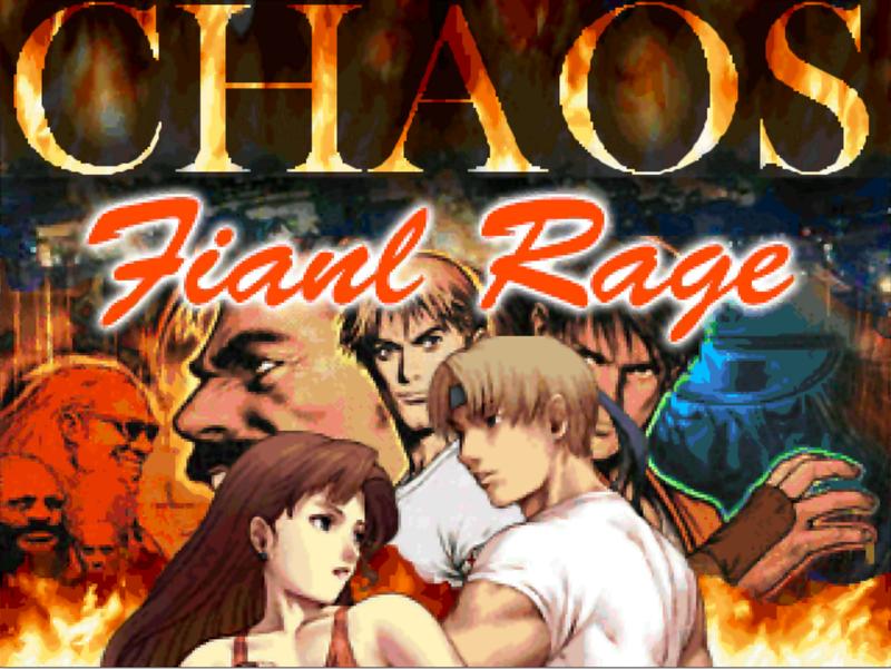 Final Rage Chaos
