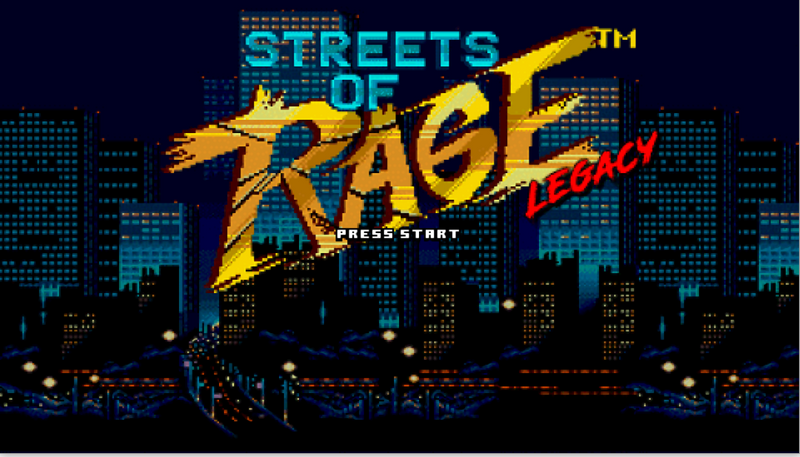 Streets of Rage Legacy