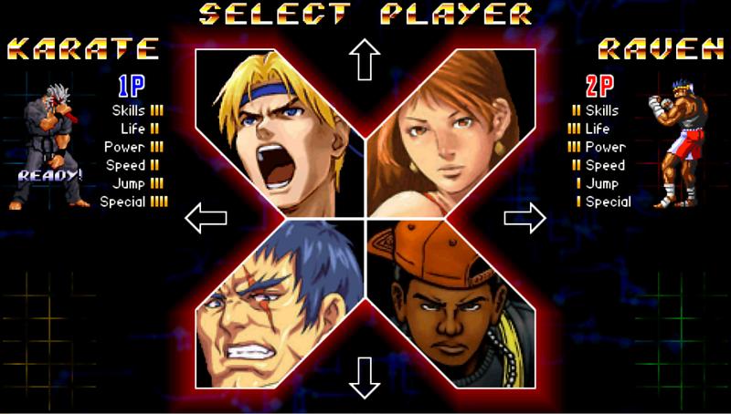 Streets of Rage 2X Takuma Sakazaki Edition 1.2