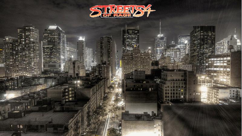 Streets of Rage 4 OPENBOR