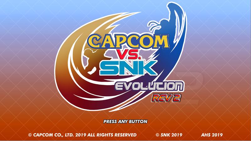 Capcom vs SNK Evolution Rev 2