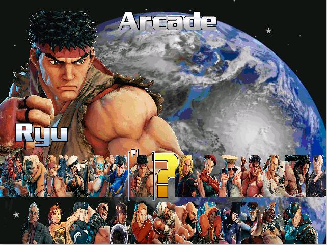 Street Fighter 5: Mugen version 2
