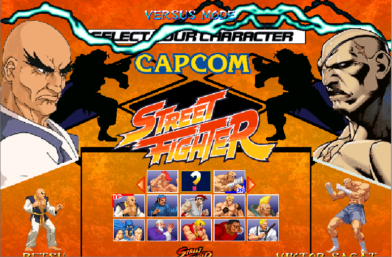 Street Fighter One Old Syle VS Street Fighter One Remake