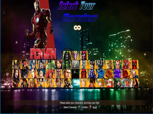 Marvel vs. Capcom vs. DC - Comic Fighters