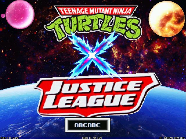 TMNT X Justice League
