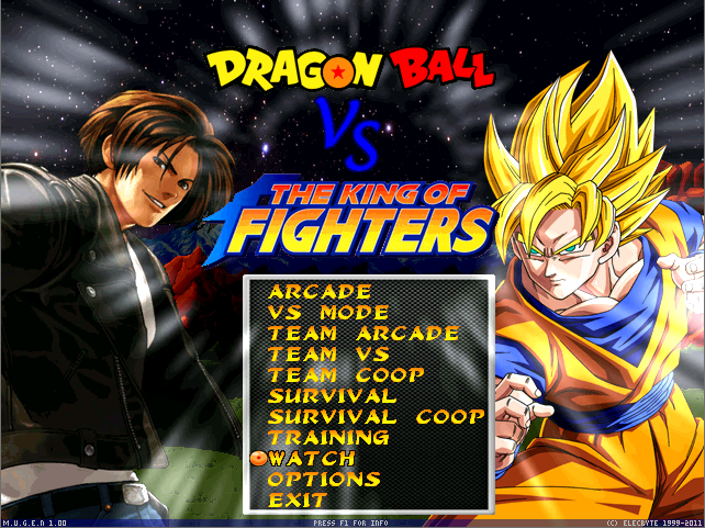 Dragon Ball vs The King of Fighters