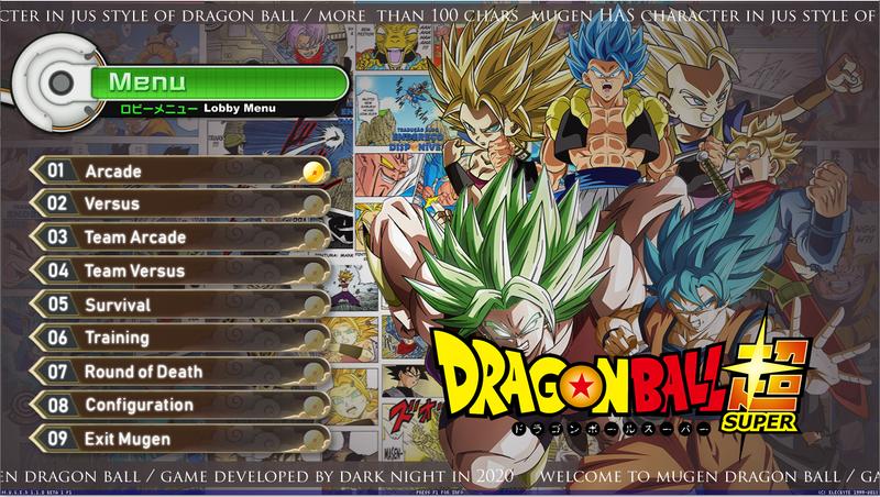 Dragon Ball Super Mugen V4