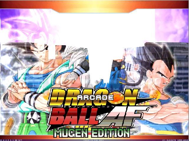 Dragon Ball AF Mugen 2018