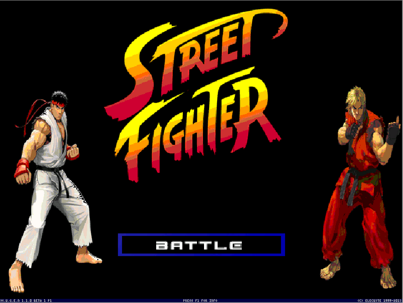 Street Fighter Battle Cry