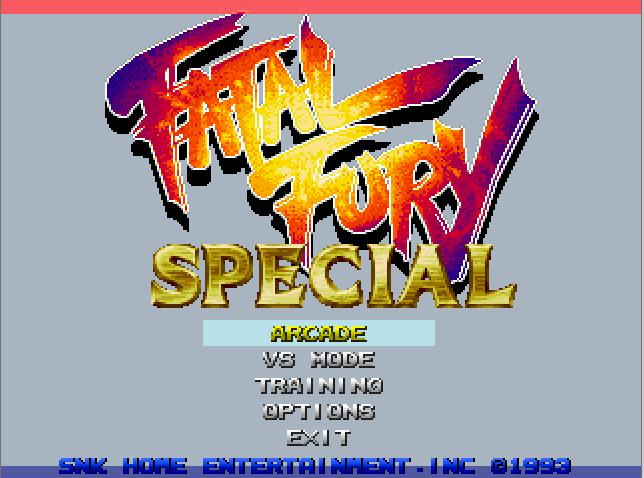Fatal Fury special HeatGames V1.2