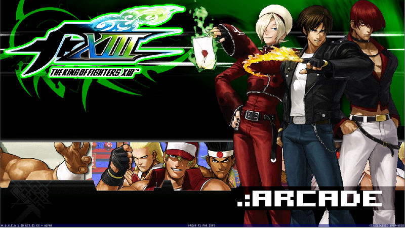 The King of Fighters XIII M.U.G.E.N (Hi-Res)