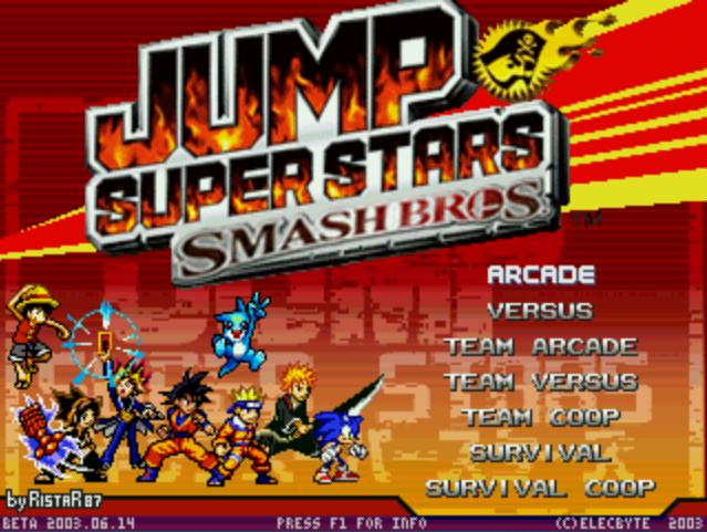 JUMP SuperStars SmashBros