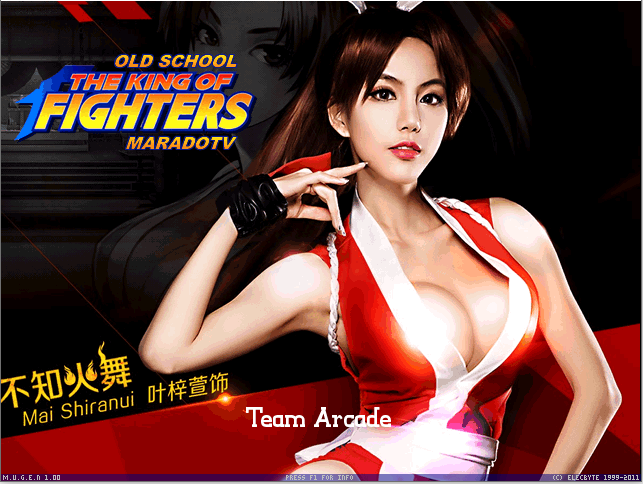The King of Fighter olds schools - MUGEN