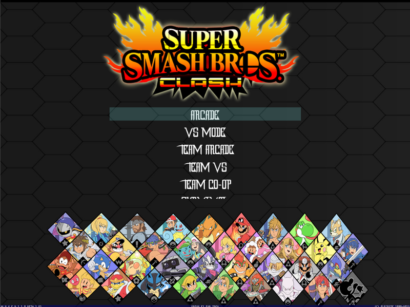 Smash Bros Clash 2.0 BY MERK EDIT