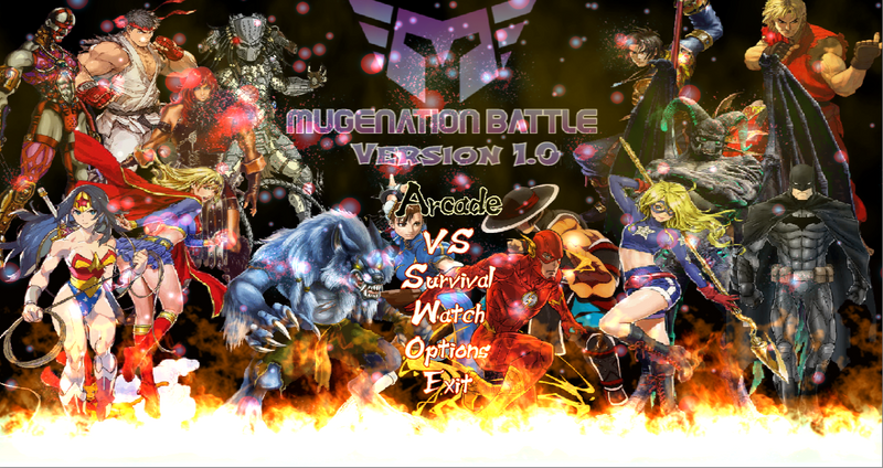 Mugenation Battle PC Version 1.0
