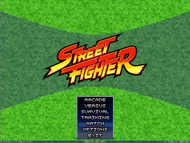 MUGEN StreetFighter Extreme 2018 and 2020