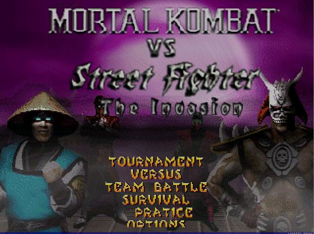 Mortal Kombat vs. Street Fighter The Invasion