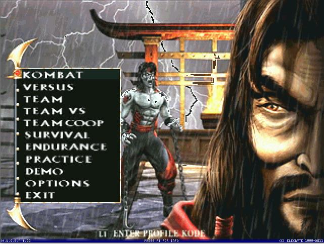 Mortal Kombat Armageddon MUGEN