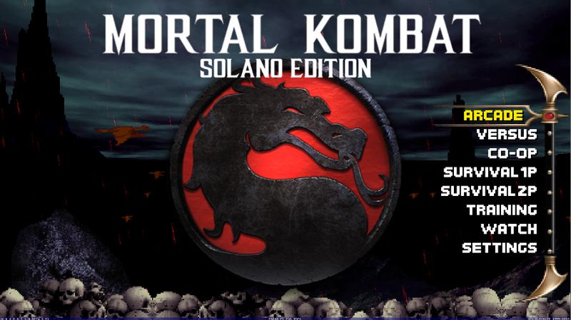 Mortal Kombat Project - Solano Edition v3.1