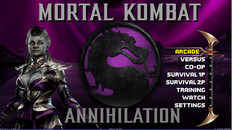 Mortal Kombat Project Annihilation 2020