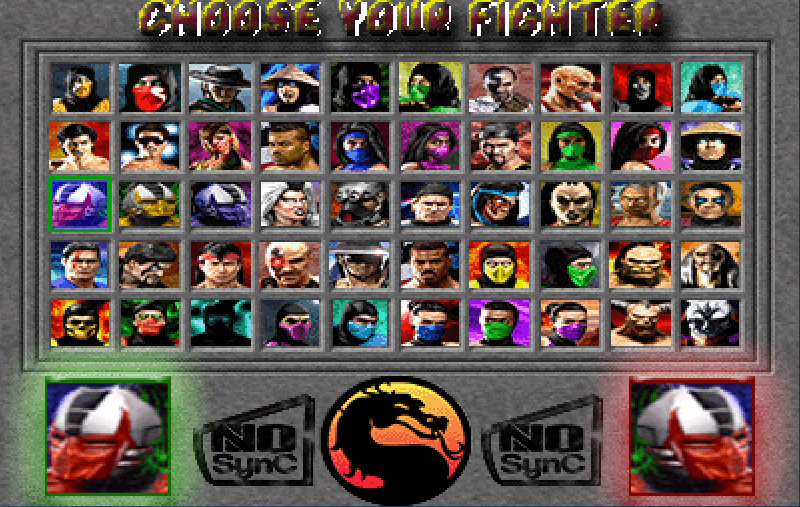 No-Sync - MK Torneio