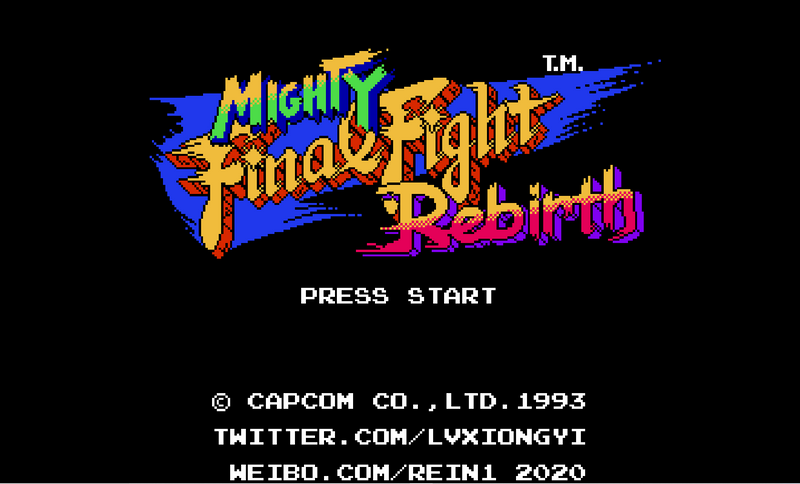 Mighty Final Fight Rebirth by Rein Lv