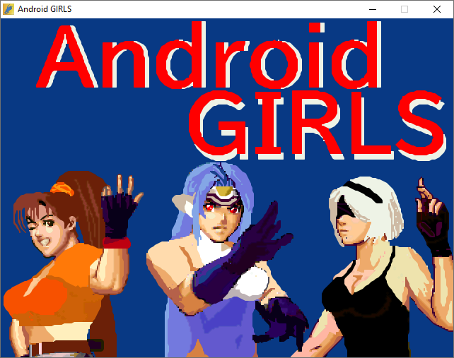 Android GIRLS | OpenBoR Mods Pack
