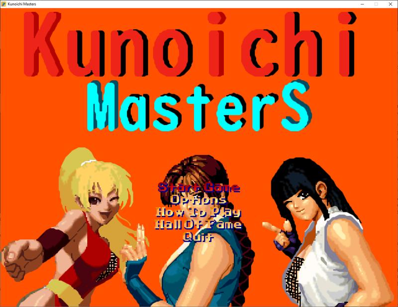 Kunoichi Masters |  OpenBoR Games Pack