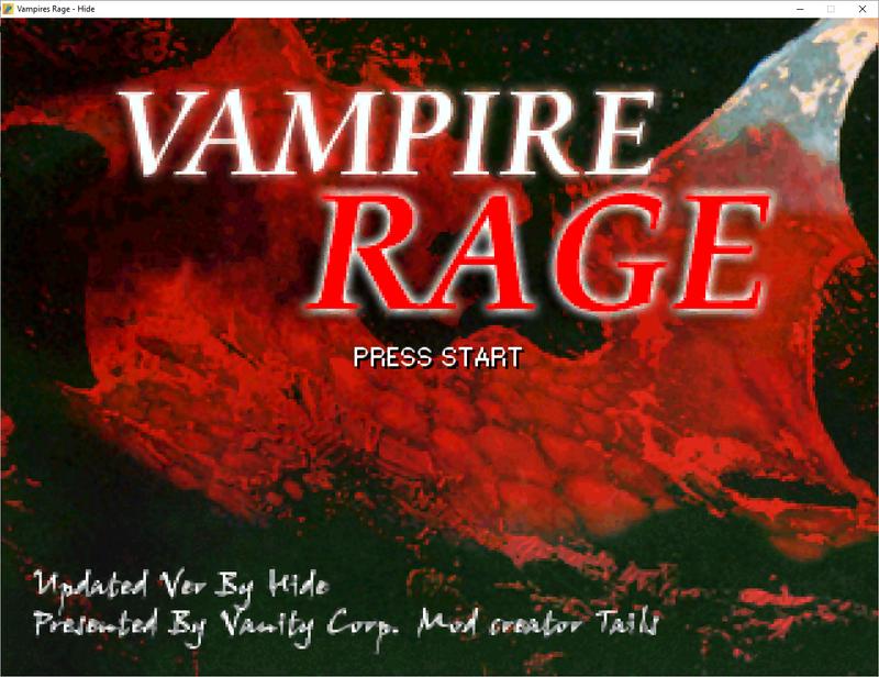 Vampires Rage - Hide