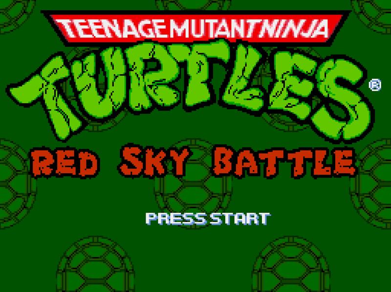 Teenage Mutant Ninja Turtles - Red Sky Project