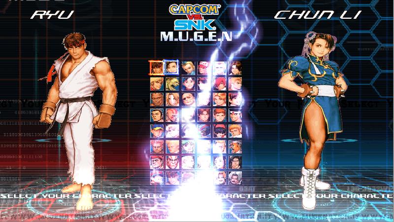 Capcom VS SNK Mugenation Edition